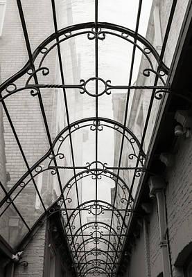 Bruges Photograph - Victorian Glass Roof by Wim Lanclus