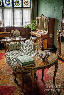 Lounge Digital Art - Victorian Life by Adrian Evans