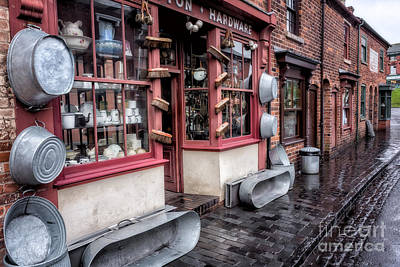 Front Digital Art - Victorian Stores by Adrian Evans