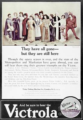 Victrola Advertisement Print by Granger