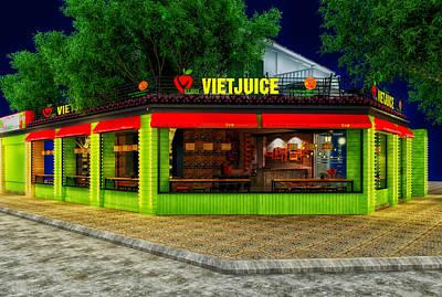 Viet Juice Print by Mountain Dreams