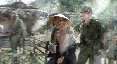 American Painting - Vietnam War 13 by Jani Heinonen