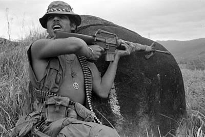 Vietnam War, Vietnam, Specialist. 4 Print by Everett