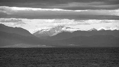 View Across The Strait Photograph Print by Kimberly Walker