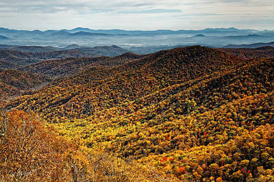 View From Blue Springs Gap Original by Phill Doherty