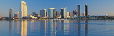 Panoramic Of San Diego Photograph - View From Coronado, San Diego by Panoramic Images