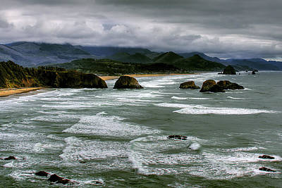 View From Ecola Print by David Patterson
