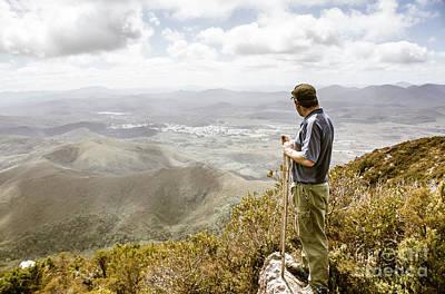 View From Mt Zeehan Tasmania Print by Jorgo Photography - Wall Art Gallery