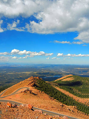 Nature Ers Photograph - View From The Top by Bobbie Barth