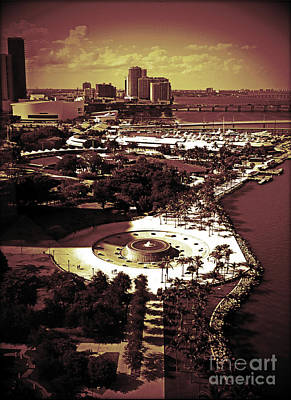 Photograph - View From The 23rd Floor by Maria Arango