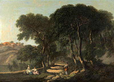 Nathaniel Dance-holland Painting - View Near Rome by Nathaniel Dance-Holland