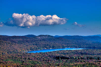 Autumn Photograph - View Of Bald Mountain From Mc Cauley Mountain by David Patterson