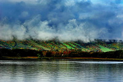 Photograph - View Of Blue Mountain  by Andrea Kollo