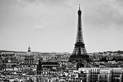 Eiffel Tower Photograph - View Of City by Sbk_20d Pictures