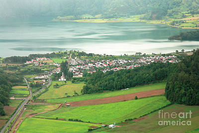 Sete Photograph - View Of Sete Cidades by Gaspar Avila