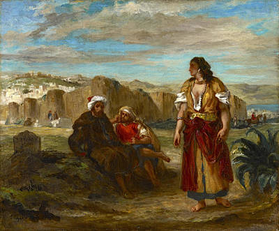 Painting - View Of Tangier by Eugene Delacroix