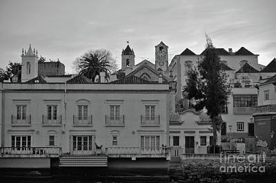 River Photograph - View Of Tavira From Gilaos River Bank by Angelo DeVal