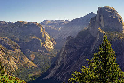 Yosemite Photograph - View Of Tenaya Canyon by Coyright Roy Prasad
