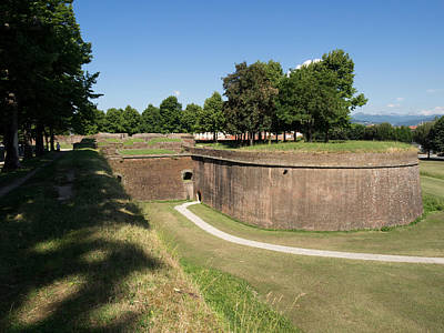 Lucca Photograph - View Of The Baluardo San Martino by Panoramic Images