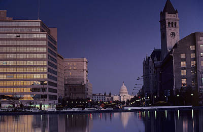 View Of The Capitol Building Print by Kenneth Garrett