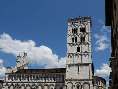 View Of The Chiesa Di San Michele Print by Panoramic Images