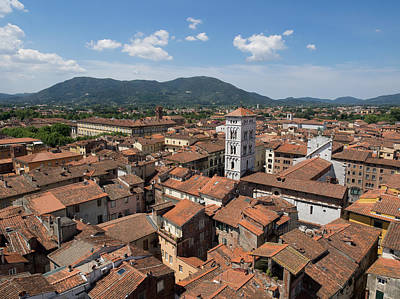 Michele Photograph - View Of The Chiesa Di San Michele Seen by Panoramic Images