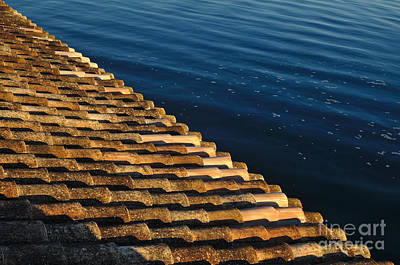 House Photograph - View Of The River From The Rooftop. Algarve by Angelo DeVal