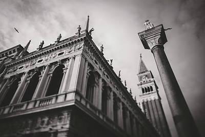 View Of Venice Italy 1 Print by Alessandro Chiarini