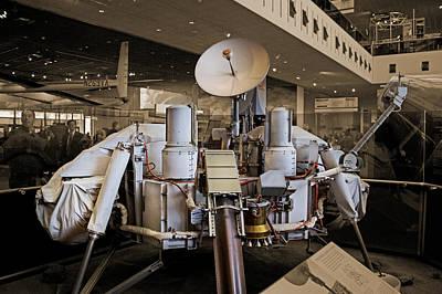 Spacecraft Photograph - Viking Lander by Betsy C Knapp