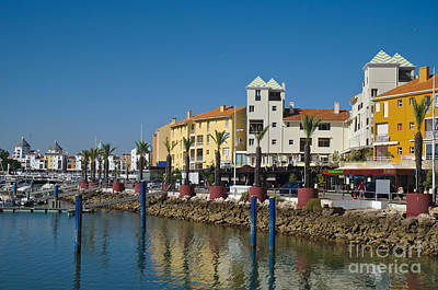 Trees Photograph - Vilamoura Marina 6 by Angelo DeVal