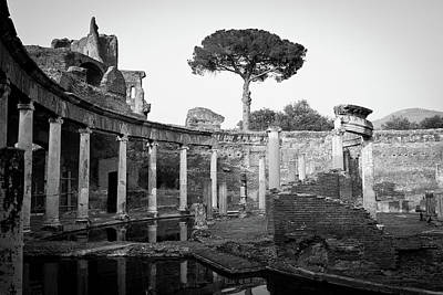 Royalty Free Images Photograph - Villa Adriana by Luigi Orru