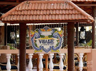 Que Photograph - Village Bar-be-que by Padamvir Singh