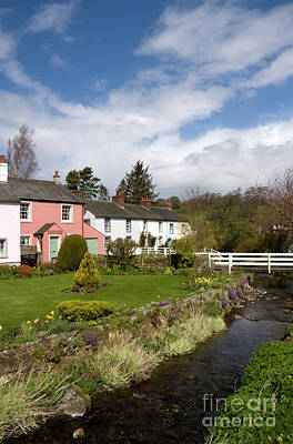 Village Photograph - Village Cottages P by Andy Smy