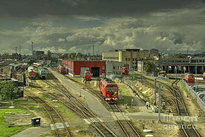Vilnius Photograph - Vilnius Depot  by Rob Hawkins