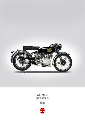 Vincent Hrd Rapide 1948 Print by Mark Rogan