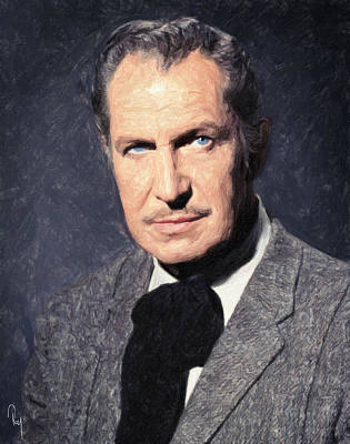 Haunted House Photograph - Vincent Price by Taylan Soyturk