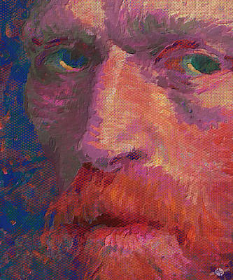 Vincent Van Gogh Meets Pop Art Original by Tony Rubino