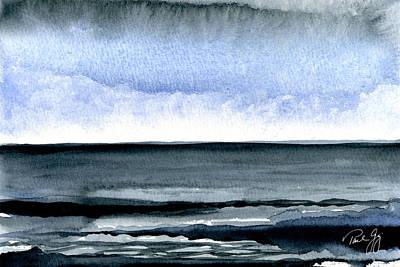 Vineyard Squall Print by Paul Gaj