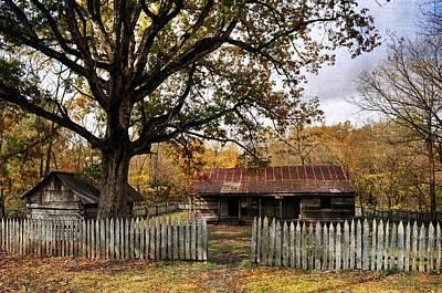 Photograph - Vintage Arkansas Homestead by Marty Koch