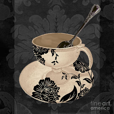 Espresso Painting - Vintage Cafe II by Mindy Sommers