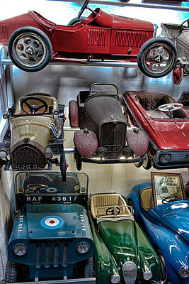 Model Kits Print featuring the photograph Vintage Cars by Martin Newman