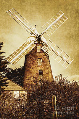 Vintage Flour Mill Print by Jorgo Photography - Wall Art Gallery