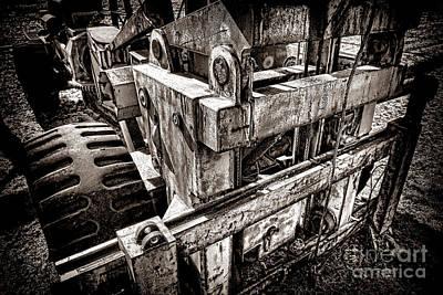Vintage Forklift  Print by Olivier Le Queinec
