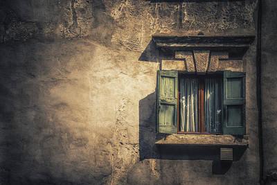 Drain Photograph - Vintage Frame by Chris Fletcher