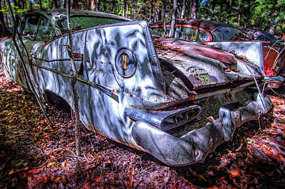 Auto Photograph - Vintage Fury by Alan Raasch