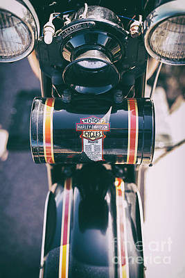Harley Davidson Photograph - Vintage Harley Davidson Tool Box by Tim Gainey