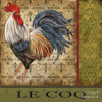 Vintage Le Coq-jp3093 Print by Jean Plout