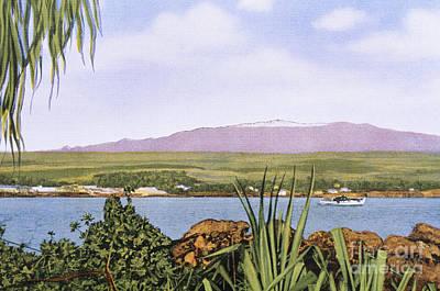 Mauna Kea Painting - Vintage Mauna Kea by Hawaiian Legacy Archive - Printscapes