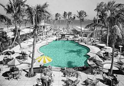 Swimming Pool Photograph - Vintage Miami by Andrew Fare