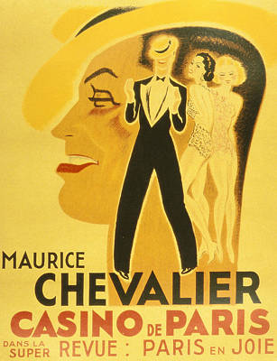 Vintage Poster Print by French School